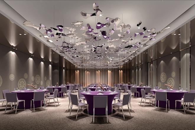 最新酒店宴会厅设计方案效果图